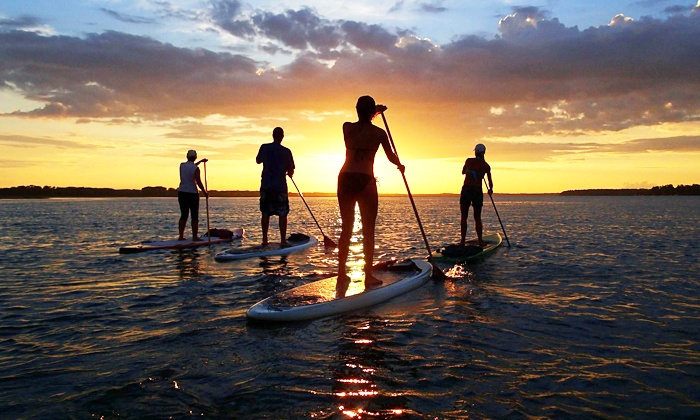 Palmetto Paddle Sports - Bluffton: Standup-Paddleboarding Rental with Instruction for Two or Four from Palmetto Paddle Sports (Up to 63% Off)