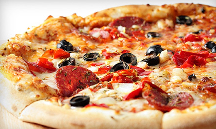 Guys Pizza Co. - Henrietta: One or Two Sheet Pizzas with Wings or $12.50 for $25 Worth of Pizza, Sandwiches, and Appetizers at Guys Pizza Co.
