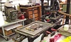 Antique Letterpress Printing Class - Brian Allen Studio: Tour a Letterpress Studio and Print a Custom Design