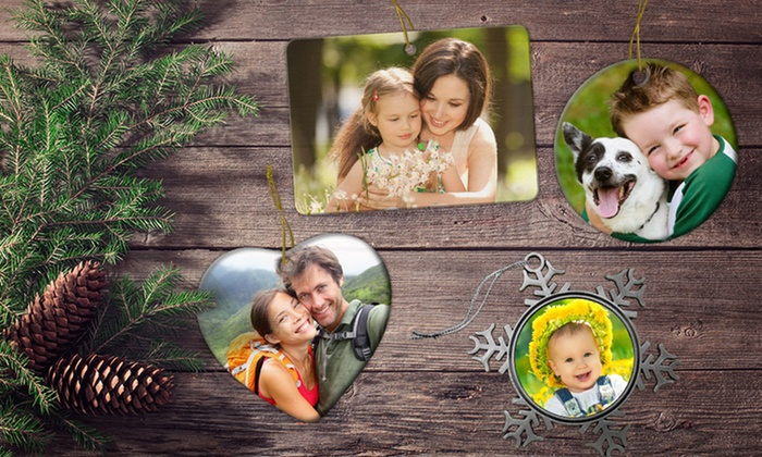 Picture it on Canvas **NAT**: Customizable Ceramic, Metal, or Pewter Ornament from Picture It on Canvas for $9.99 or $11.99
