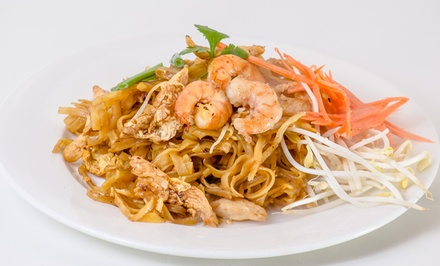 $15 for $30 Worth of Thai and Peruvian Food at A Good Thai & Peruvian Restaurant