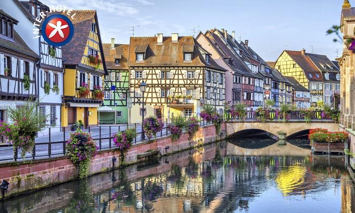 Hôtel le verger des châteaux - Inter-Hotel Le Verger des Châteaux: Alsace : 1 à 3 nuits avec petits déjeuner, kir et dîner en option à l'INTER-HOTEL le Verger des Châteaux dès 69 € pour 2