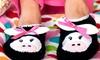 2-Pack of Women's Critter Slippers: 2-Pack of Women's Critter Slippers