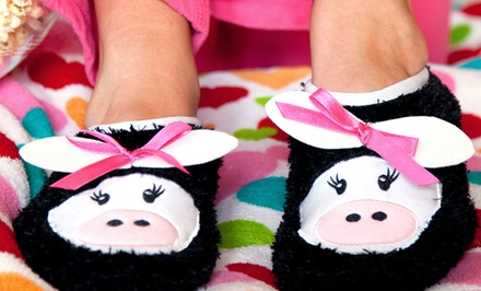 2-Pack of Women's Critter Slippers