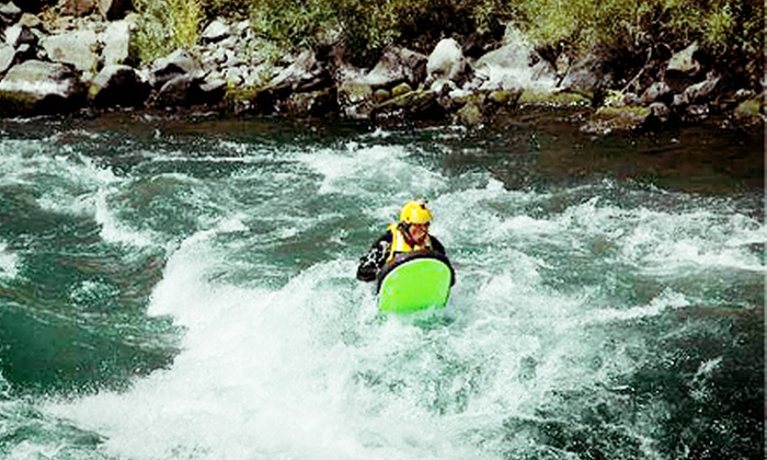 N8TV Adventures - Warm Springs: Half Day of River Boarding for Two or Four, or Half Day of River Rafting for Four from N8TV Adventures (Up to 57% Off)