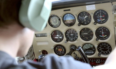 25-Minute Flying Experience for £89 at Peterborough Flying School