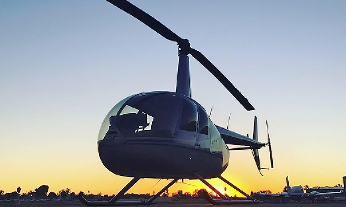 Hangar 21 Helicopters - Hangar 21 Helicopters: 30-Minute Helicopter Tour for Up to Three From Hangar 21 Helicopters (17% Off)