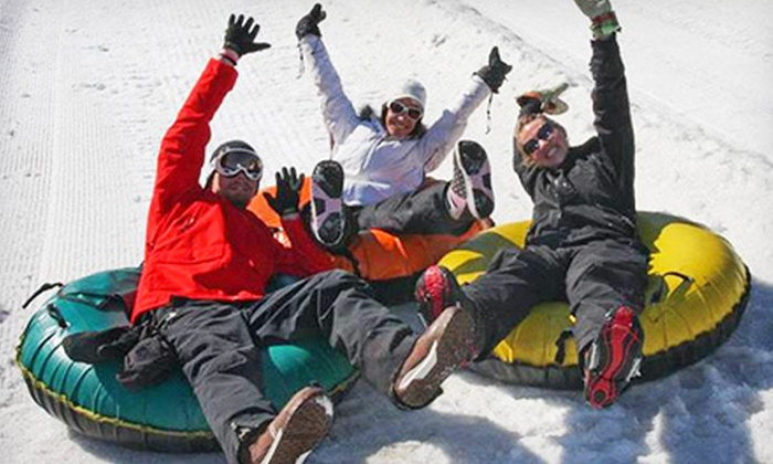 Outdoor Connections - James Farley Main Post Office: Snow Tubing, Skiing-Snowboarding, Snowshoeing, or Cross-Country Skiing Day Trip from Outdoor Connections (Up to 45% Off)