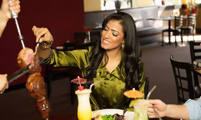 Oliveira's Steak House - Industrial Park: Rodizio Meal for Two at Oliveira's Steak House (46% Off). Two Options Available.