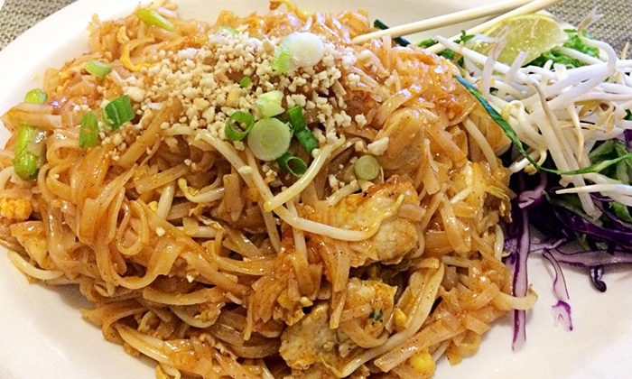Bangkok Thai Restaurant, Inc. - Southside Trailer Village: Thai Dinner for Two or Four or More at Bangkok Thai Restaurant, Inc. (Up to 42% Off)