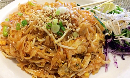 Thai Dinner for Two or Four or More at Bangkok Thai Restaurant, Inc. (Up to 42% Off)