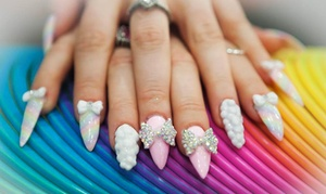 Kosi Nails: CC$36 for a Full Set of Sculptured Gel Nails at Kosi Nails (CC$60 Value)