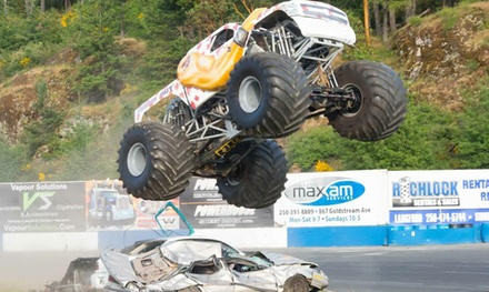 Monster-Truck Show on Friday, May 27, at 7 p.m.