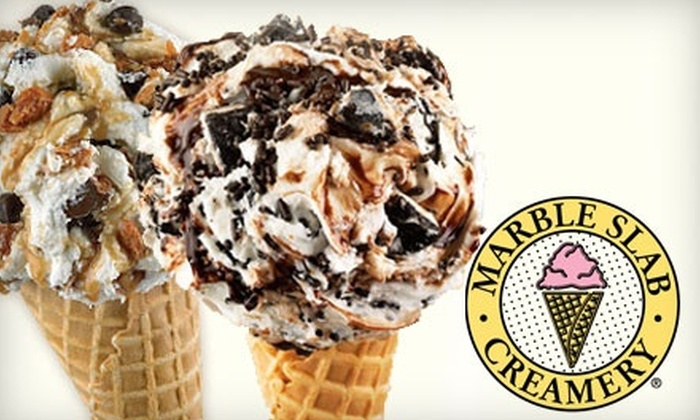 Marble Slab Creamery-LI - Lindenhurst: $12 for Three Groupons, Each Good for $8 Off Your Bill at Marble Slab Creamery ($24 Value)