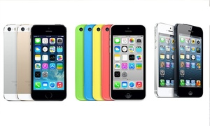Apple iPhone 5, 5c, or 5S (GSM Unlocked) at Apple iPhone 5, 5c, or 5S (GSM Unlocked), plus 6.0% Cash Back from Ebates.
