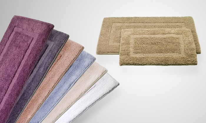 Two-Piece Memory-Foam Bath Mat Set: $32 for a Two-Piece Memory-Foam Bath Mat Set ($89.99 List Price). Seven Colors Available. Free Shipping and Returns.