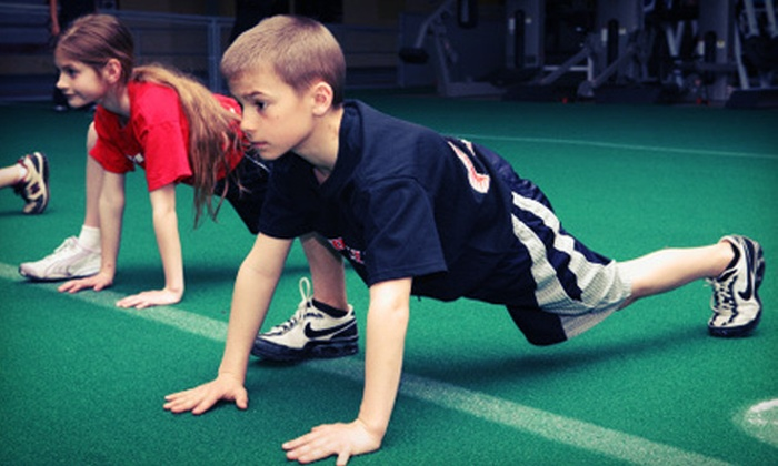 Parisi Speed School - Garwood: 8 or 16 One-Hour Fitness-Training Sessions for Kids Aged 7–18 at Parisi Speed School (Up to 71% Off)