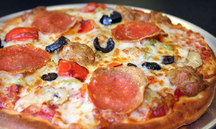 The Pizza Pie Guys - West Omaha: Pizza Meal for Two or Four, or Pizza Party for Up to 12 Kids at The Pizza Pie Guys (Up to 54% Off)