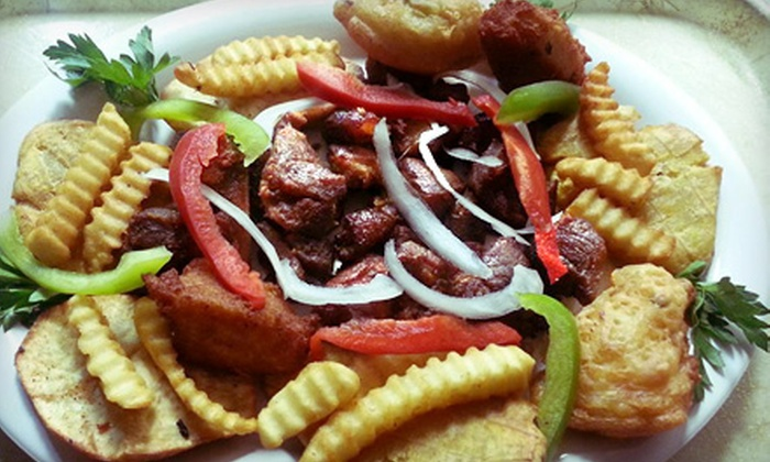 Kizin Creole - Chicago: Haitian Cusine at Kizin Creole (Half Off). Two Options Available.