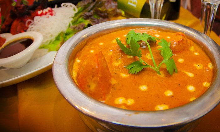 Royal Palace - Valhalla: Indian Dinner for Two or Four at Royal Palace (Up to 55% Off)