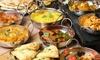 Maharaja Indian Restaurant - Maharaja Indian Restaurant: Platter with a Choice of Mains and Naan at Maharaja Indian Restaurant