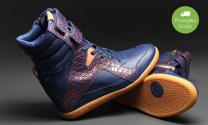 08c905a8 Sneakersy Reebok Wedge Alicia Keys   Groupon