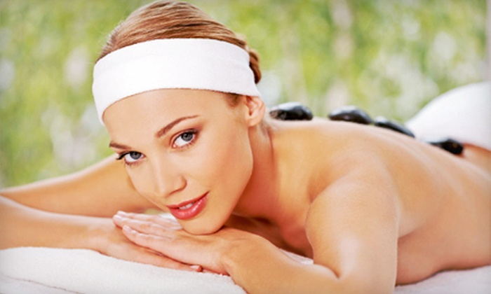 Vali Skin Care European Organic - Grogan's Mill: 60- or 90-Minute Hot-Stone Massage and Option of a 50-Minute Facial at Vali Skin Care European Organic (Up to 54% Off)