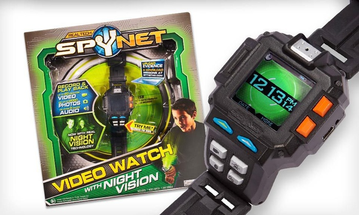 SpyNet Video Watch with Night Vision: $35 for a SpyNet Video Watch with Night Vision ($59.99 List Price). Free Shipping.