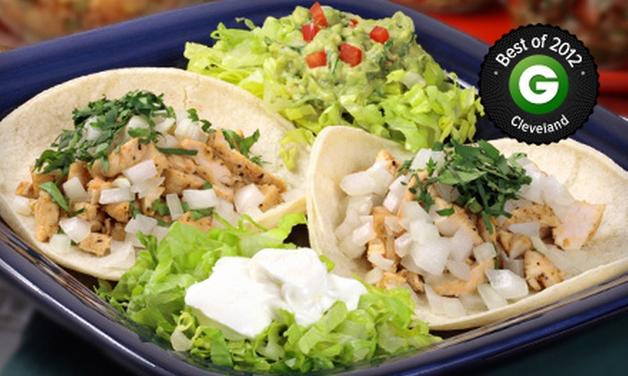 Luchita's Mexican Restaurant - Cleveland: Prix Fixe Mexican Dinner for Two or Four at Luchita's Mexican Restaurant (Half Off)