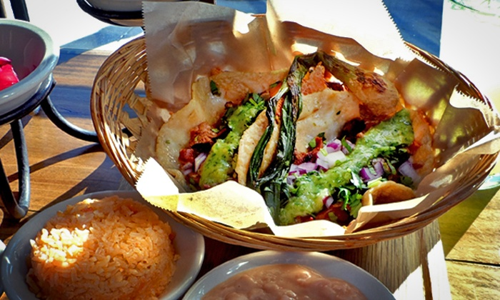 El Gallo Grill - East Los Angeles: Mexican Food at El Gallo Grill (50% Off). Two Options Available.