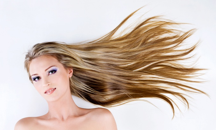 Red Carpet Salon and Spa - Snellville: Haircut with Deep Conditioning or Partial or Full Highlights at Red Carpet Salon and Spa (Up to 59% Off)