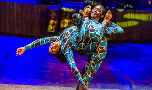Cirque Africa Unique Entertainment: Cirque Africa Unique Entertainment Show: Weekday Child ($19), or Adult Ticket ($25) - Various Venues (Up to $40 Value)