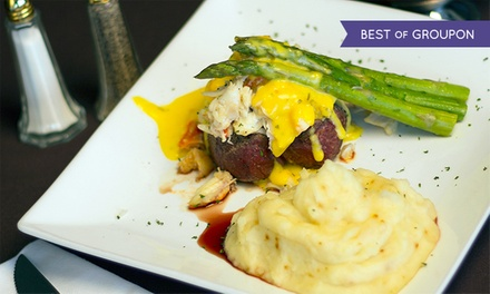 New American Dinner for Two or Four at 360 (Up to 48% Off)
