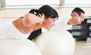EM Creative: 10 or 20 Group Fitness Classes at EM Creative (Up to 62% Off)
