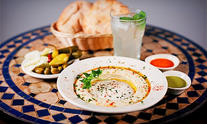 Hummus Place - Multiple Locations: $6 for $12 Worth of Middle Eastern Food at Hummus Place