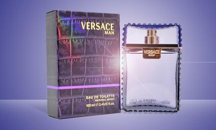 Versace Man Eau de Toilette; 3.4 Fl. Oz.