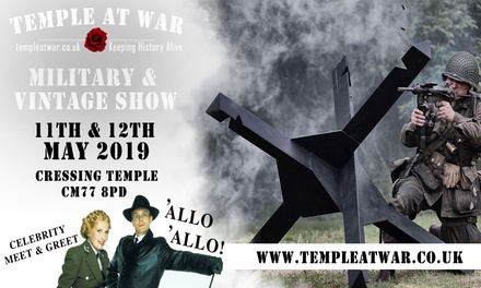 Temple at War, 11–12 May 2019 at Cressing Temple Barns