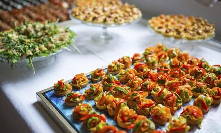 Servicio de catering para 12 o 24 personas con hasta 230 piezas desde 49,90 € en El Molí Pan Y Café
