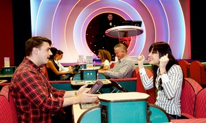 Beacon Bingo: Bingo, Meal and Drink For Two or Four from £10 at Beacon Bingo (Up to 81% Off)