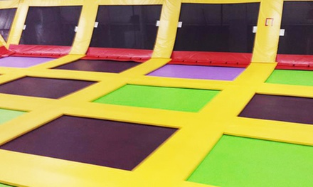 One-Hour Bounce Pass for Two or Four at Bounce FunPlex & Mini Golf (Up to 47% Off)