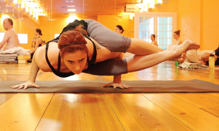 Red Hot Yoga - Multiple Locations: One, Two, or Three Weekends of Yoga-Teacher Training at Red Hot Yoga (Up to 56% Off)