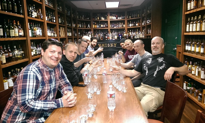 Whisky Attic - Las Vegas: Gold Level Whisky Class and Flavor Profile Assessment for 2, 4, 6, or Up to 10 at Whisky Attic (Up to 40% Off)