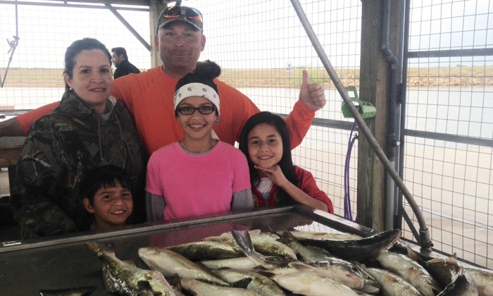 Knee Deep Fishing with Captain Ciruti - Bay City: All-Day Fishing Trip for Up to Three from Knee Deep Fishing with Captain Ciruti (Up to $625 Value)