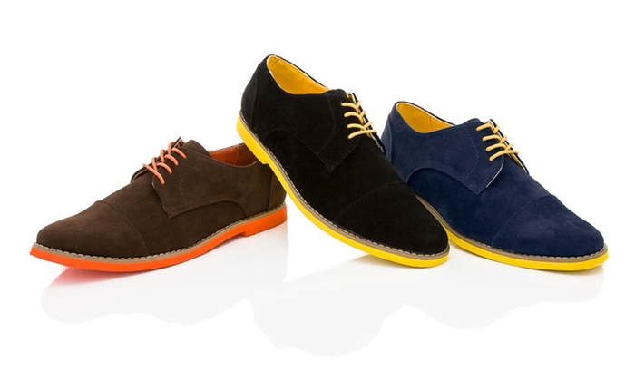 Adolfo Men's Oxfords: One Pair of Adolfo Men's Oxfords. Multiple Colors Available. Free Shipping and Returns.