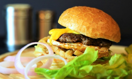 Burger with Fries and a Drink for Two or Four at Vibes Burger (Up to 51% Off)