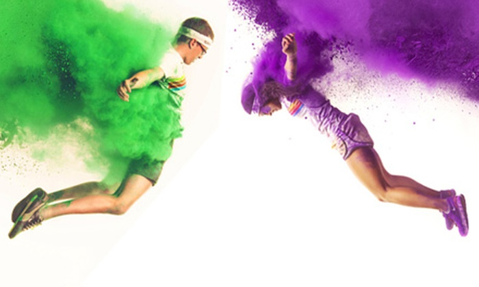 The Color Run - Pacific National Exhibition: $71.50 for the Color Run 5K for Two at Pacific National Exhibition on Saturday, September 14 ($115 Value)