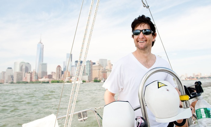 Sailors NYC - Pier 25, until July 1: Hands-On Sailing Lessons at Sailors NYC (Up to 49% Off). Four Options Available.