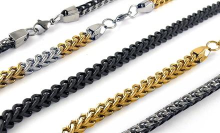 Men's Stainless Steel Franco Chain