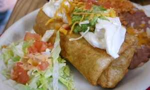 Tacos De Juarez: Mexican Dinner Food for Two or Four at Tacos De Juarez (Up to 42% Off)