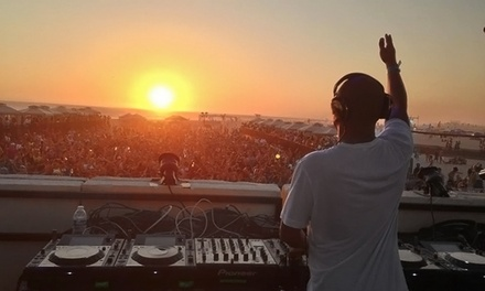 Silent Sun(sets) Silent Disco Beach Party at Huntington State Beach on June 7 (Up to 52% Off)